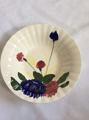 Blue Ridge Southern Pottery Round Serving Vegetable Bowl Floral Pattern