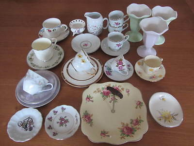 Mixed Lot Of Vintage China - Trios Jugs Etc