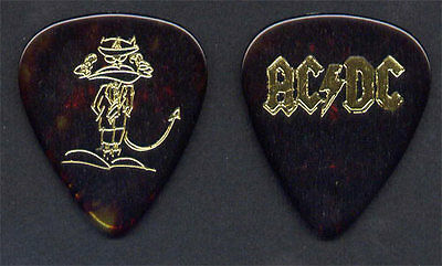 AC/DC Angus Young 1995 Ballbreaker Tour Guitar Pick - Very Rare Original