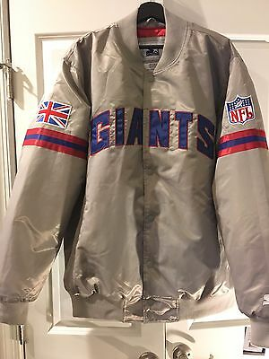 Foot Patrol & Packer For Starter  London Collection  New York Giants Jacket XXL