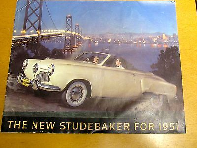 1951 Studebaker 16 page full color brochure