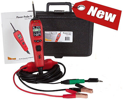 Power Probe IV Diagnostic Circuit Tester,Fuel, injector tester, PP401AS NEW!