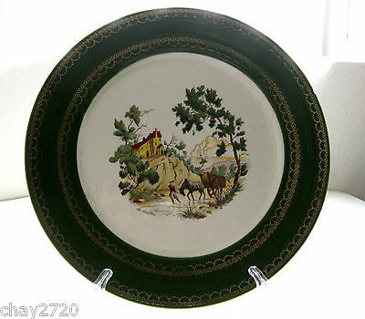 Vtg Triumph By American Limoges Chateau France Dinner Plate 10 Inches