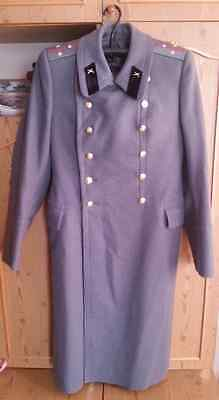 Vintage Russian Soviet Officer Army Coat Military wool Overcoat USSR Shinel M