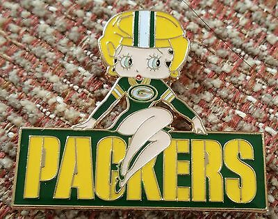 GREEN BAY PACKERS BETTY BOOP Lapel Pin