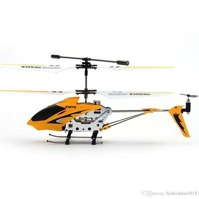 Remote Control RC Helicopter Kit's Toys Metal edition with Gyro S107 3.5CH Metal