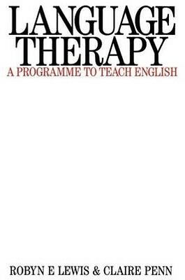 Language Therapy by Robyn E. Lewis Paperback Book (English)