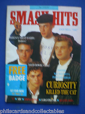 Smash Hits - 17th June 1987 - Curiosity Killed the Cat, Terence Trent D'Arby
