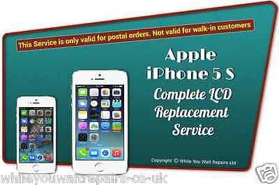 FAST APPLE IPHONE 5s DIGITIZER GLASS LCD SCREEN REPAIR REPLACEMENT SERVICE