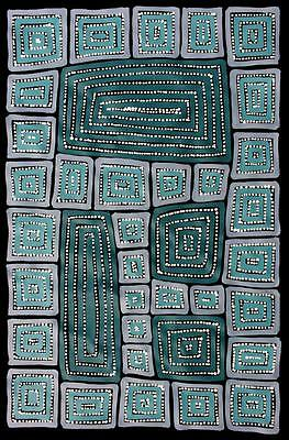 Aboriginal Art by Adam Reid 57cm x 89cm