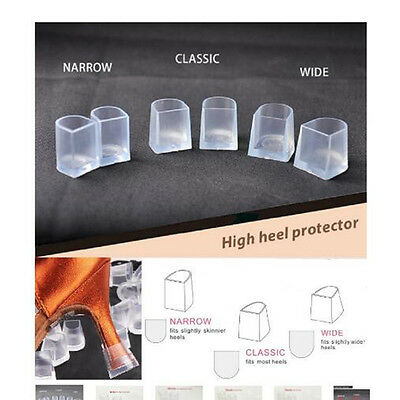 Fashion transparent Women's High Heel Sets Of Protective Cover