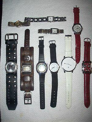 Lot of Wrist Watches, Various from Gucci and Zodiac to Oscar De La Renta