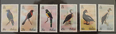 Belize 1978 Birds 2nd Series Set MNH SG467-472