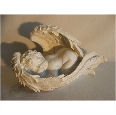 Baby Sleeping Cherub In Wings    .latex Mould/moulds/mold