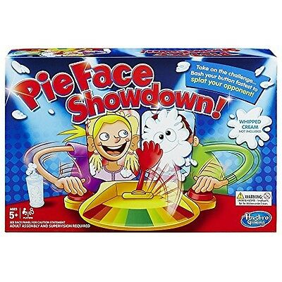 Pie Face Showdown Game Family Party Challenge Time Fun Christmas Gift