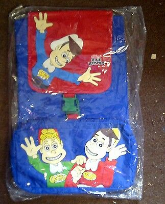 Kellogg's Snap Crackle And Pop Children's Back Pack 1999 New And Sealed In Bag