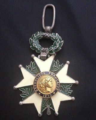 Museum Quality French Commanders Medal Order Legion D'Honneur Medal