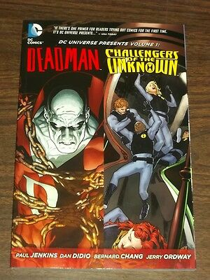 DC Universe Presents Deadman & Challengers of Unknown (Paperback)< 9781401237165