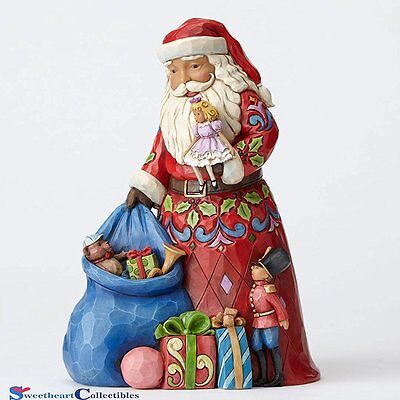 Jim Shore's  Santa With Toy Bag - NEW for 2016