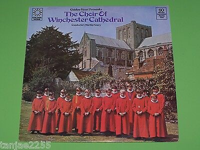 The Choir of Winchester Cathedral Martin Neary - Golden Hour LP
