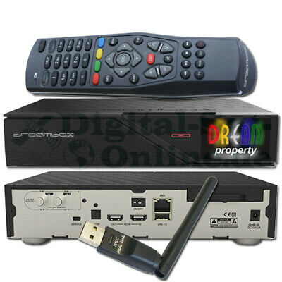 ►Original Dreambox DM900 UHD 4K 1xDVB-S2 Dual Tuner E2 Linux PVR Receiver + WLAN