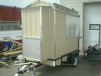 4x7 Food Trailer from Cottage Concessions
