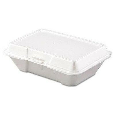 DART 205HT1 Carryout Food Container, Foam, 1-Comp, 9 3/10 x 6 2/5 x 2 9/10, 200/