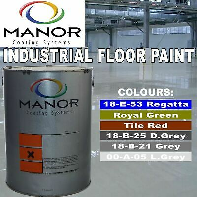 5 Litre Linotex Industrial Hard Wearing Interior Concrete Floor Paint Covering