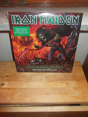 """Iron Maiden """"From Fear To Eternity-The Best Of 1990-2010"""" 3LP EMI LTD PICT 2011"""