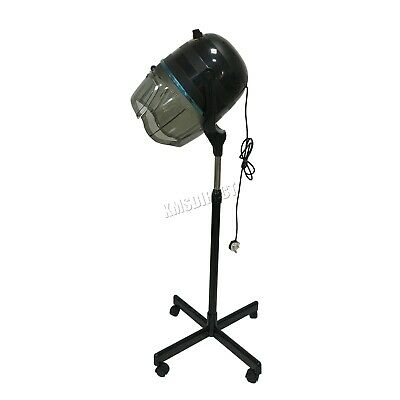 FoxHunter Portable Salon Hair Hood Dryer Stand Up Hairdresser Styling Black New