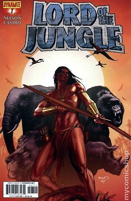 Lord of the Jungle (2011 Dynamite) #7B VF