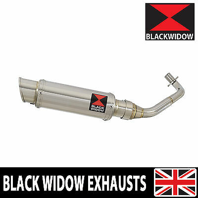 Piaggio Vespa ET4 125 1996-2005 Exhaust System Round Stainless Silencer 230SR
