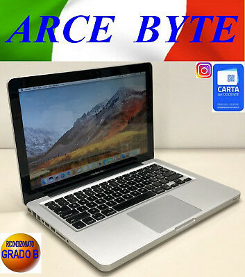 "APPLE MACBOOK PRO 13"" CORE i5 * RAM 16 GB * HD 1TB * FATTURABILE * MACOS SIERRA"