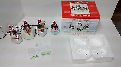 Mr. Christmas Penguin Players 50 Christmas Songs & Classics - 4 Moving Musicians