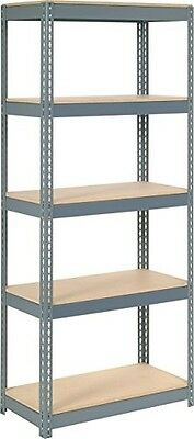 Rivet Lock Extra Heavy Duty Shelving Unit, Gray
