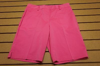 NEW Puma Golf Pounce Bermuda Shorts Womens Size  4 Shocking Pink  Sample 76d 76d