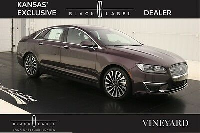 2017 Lincoln MKZ/Zephyr BLACK LABEL VINEYARD THEME  MSRP $57525 NAVIGATION VENETIAN LEATHER SEATS ALCANTARA WRAPPED HEADLINER WITH MOONROOF