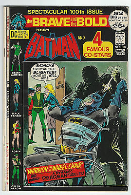 1972 The Brave & the Bold #100 (4.5/VG+) *FREE SHIPPING