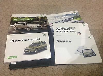 Skoda Yeti   Drivers Handbook Pack Owners Manual  2014-2017