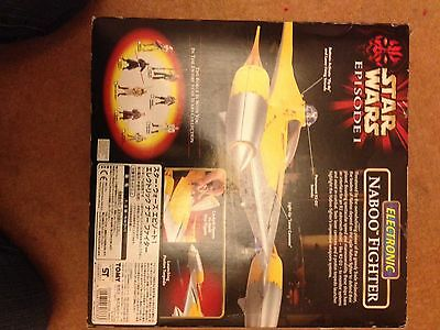 Star Wars Naboo Electronic Fighter