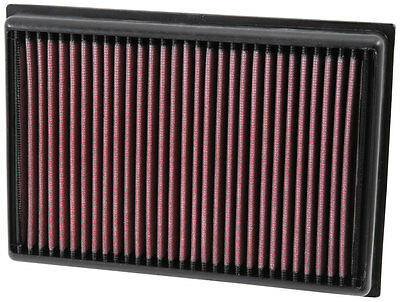 K&N 33-5007 High Flow Air Filter for VAUXHALL OPEL MOKKA 1.4 1.6 1.7 2012-16