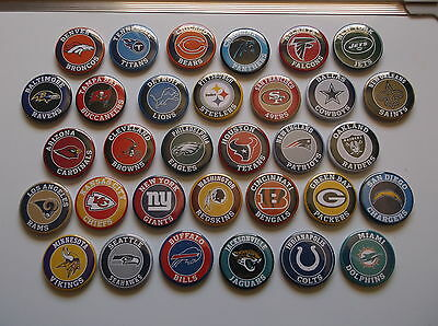 NFL BADGES ALL 32 TEAMS BADGES  £15 this weekend only