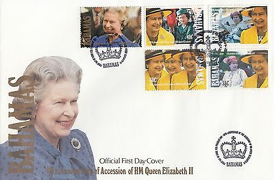 (94930) Bahamas FDC Queen 40 years Accession 6 February 1992