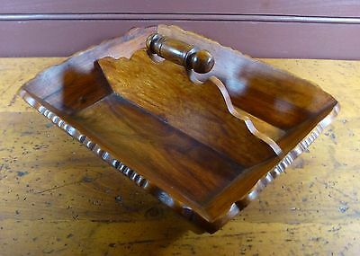 Vintage Repro Wooden Cutlery Tray Use for Silverware, gourds, painted eggs etc