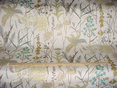 19+Y Braemore Exquisite Woodland Floral Drapery Upholstery Fabric
