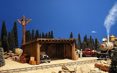 G Scale Building For Use W Lgb Accucraft Garden Gauge Train Track & Locomotives