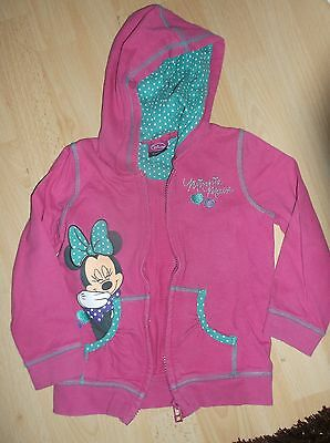 Minnie Mouse hooded jacket age 3/4 years
