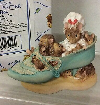 Border Fine Arts Beatrix Potter - Old Woman In Shoe