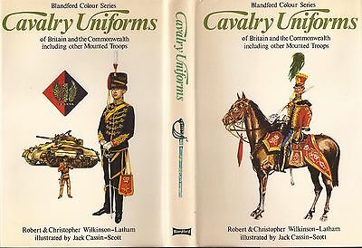 Blandford Cavalry Uniforms Of Britain & Commonwealth Mounted Troops 1972.