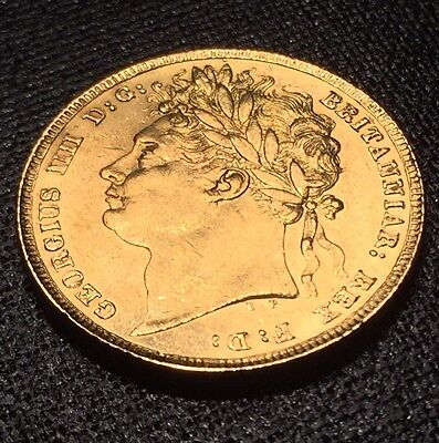 A 1824 Rare Full George IV Gold Sovereign